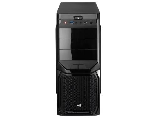 Корпус Aerocool V3X Advance Black Edition, ATX, 600Вт, USB 3.0, вид 2