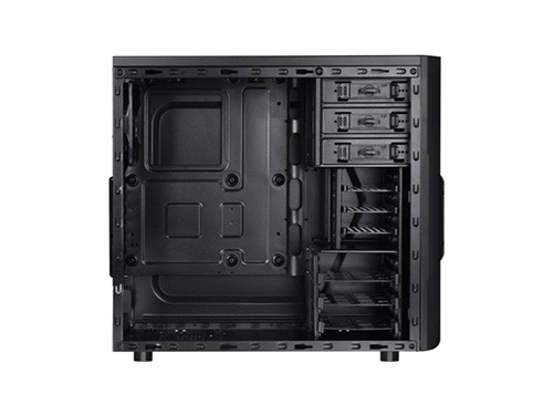 Корпус Thermaltake CA-1B3-00-M1WN-00 Versa H22 Win Black w/o PSU ATX, вид 4