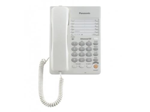 Проводной телефон Panasonic KX-TS2363RUW, белый, вид 2