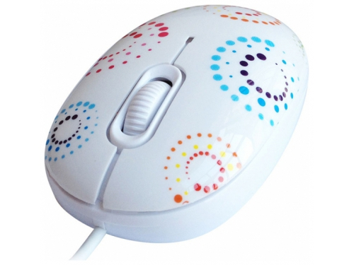 Мышка CBR mouse + mousepad Rainbow USB, вид 3