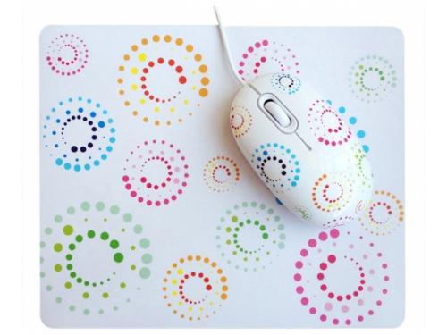 Мышка CBR mouse + mousepad Rainbow USB, вид 2