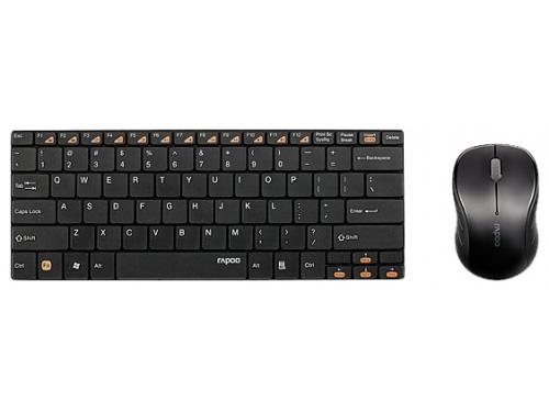 Комплект Rapoo 9020 Black USB, вид 2