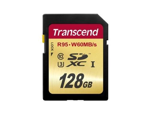 Карта памяти Transcend TS128GSDU3, вид 1