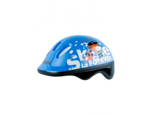 Шлем роликовый Max City Baby Teddy р.S, синяя, вид 1