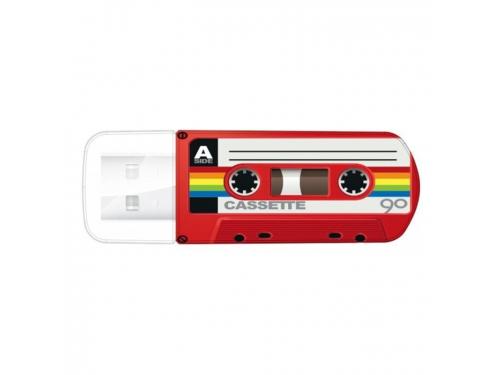 Usb-флешка Verbatim Store 'n' Go Mini Cassette Edition 32GB, черная, вид 3