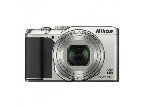 Цифровой фотоаппарат Nikon Coolpix A900, серебристый, вид 1