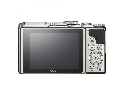 Цифровой фотоаппарат Nikon Coolpix A900, серебристый, вид 3