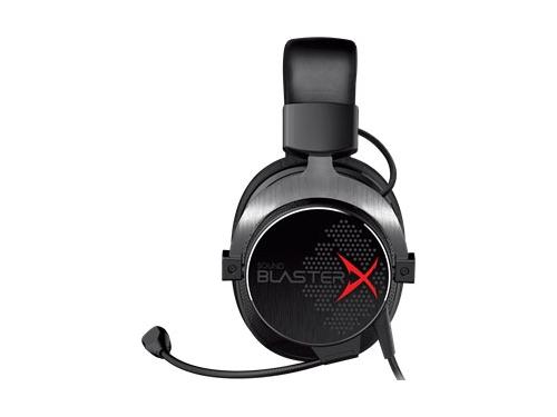 Гарнитура для ПК Creative Sound BlasterX H5 черно-серебристая, вид 4