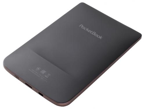 Электронная книга PocketBook 615, коричневая, вид 2