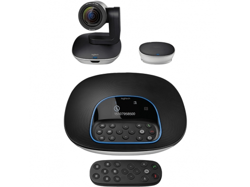 Web-камера комплект Logitech Group, для видеоконференций (960-001057), вид 1