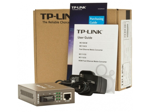 Медиаконвертер сетевой TP-LINK MC110CS, вид 2