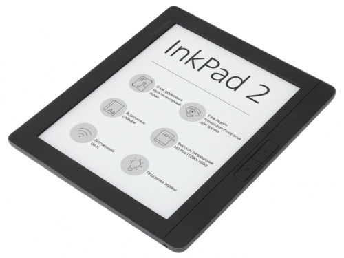 Электронная книга PocketBook 840-2 InkPad 2 (с подсветкой), вид 1