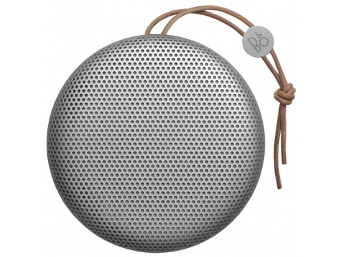 Портативная акустика Bang & Olufsen BeoPlay A1, серебристая, вид 1