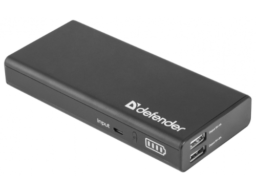 Аксессуар для телефона Defender Lavita 10000 (10000 mAh, USB 2A+1A), вид 1