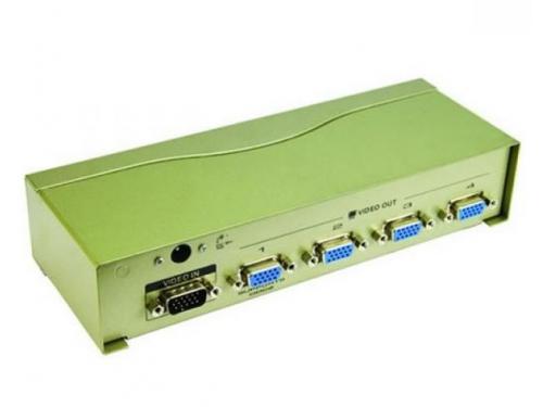 VGA-разветвитель VCom Vpro VDS8016 (на 4 монитора), вид 2