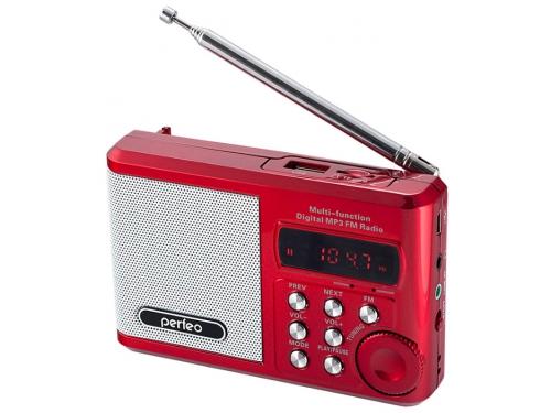 Портативная акустика Perfeo Sound Ranger, красный, вид 1