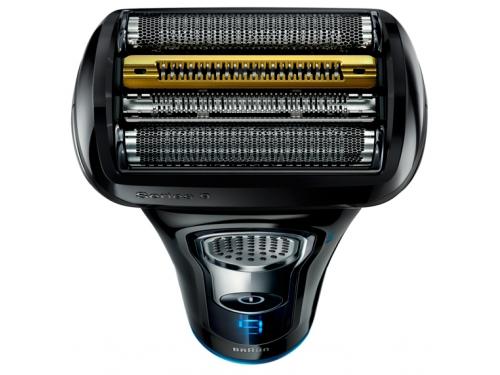 Электробритва Braun 9240s, черная/ синяя, вид 2