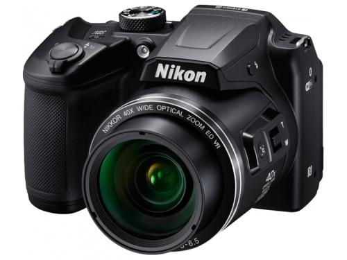 Цифровой фотоаппарат Nikon Coolpix B500, черный, вид 1