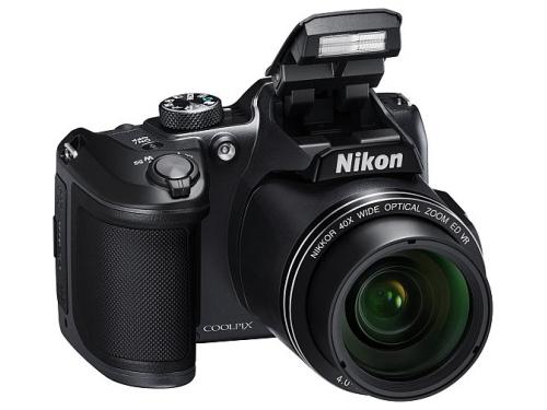 Цифровой фотоаппарат Nikon Coolpix B500, черный, вид 4