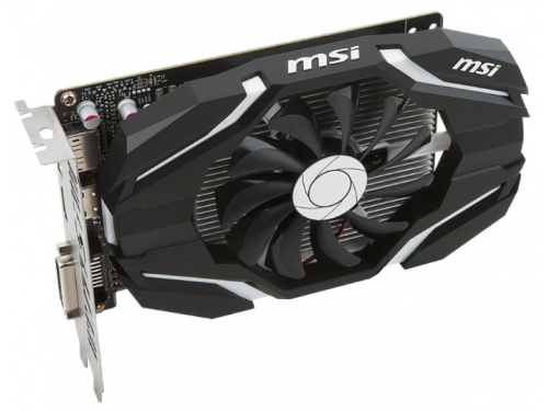 Видеокарта GeForce MSI GeForce GTX 1050 Ti 1341Mhz PCI-E 3.0 4096Mb 7008Mhz 128 bit DVI HDMI HDCP OC, вид 3