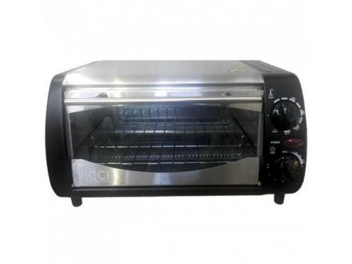 Мини-печь, ростер Ricci TO10BTQS, серебристо-черная, вид 1