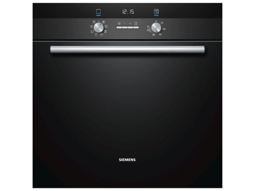 Духовой шкаф Siemens HB23GB655, черный, вид 1