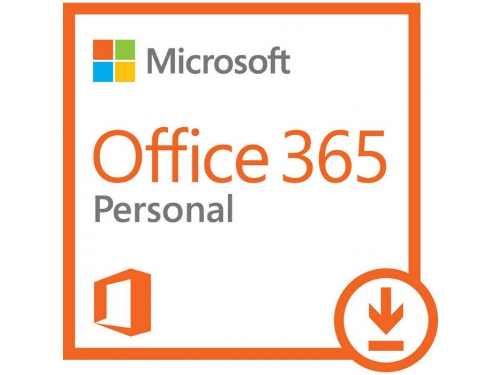 Программа офисная Microsoft Office 365 Personal Rus (ключ на 1 год, 1 ПК или Mac + 1 планшет), QQ2-00004, вид 1