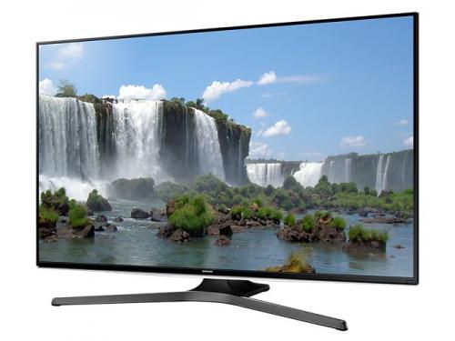телевизор Samsung UE50J6240AU, черный, вид 1