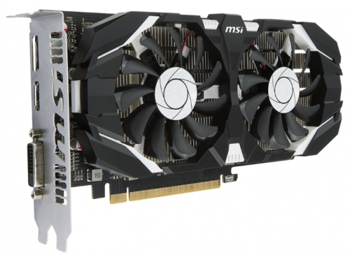 Видеокарта GeForce MSI GeForce GTX 1050 (2GT LP), вид 4