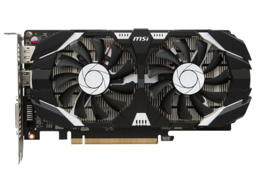 Видеокарта GeForce MSI GeForce GTX 1050 (2GT LP), вид 2