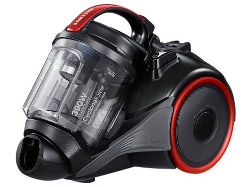 Пылесос Samsung VC15K4110VR, черный/ красный, вид 2