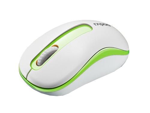 Мышка RapooM10 White-Green, вид 1