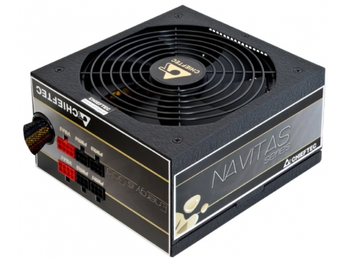Блок питания Chieftec 850W GPM-850C v.2.3/EPS, APFC, Fan 14 cm , Cable Management 80+ Gold, вид 2
