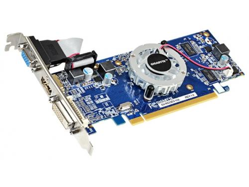 Видеокарта Radeon GIGABYTE Radeon R5 230 625Mhz PCI-E 2.1 1024Mb 1066Mhz 64 bit DVI HDMI HDCP, вид 1
