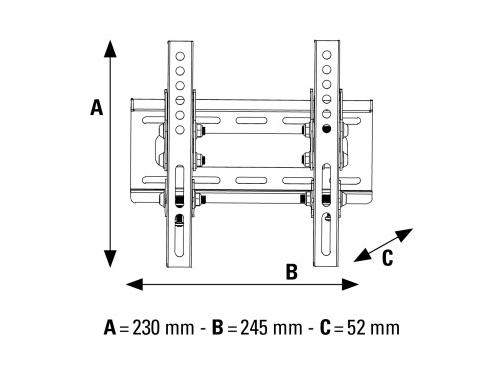 Кронштейн Hama H-108715 L, вид 2
