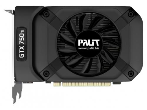 Видеокарта GeForce PALIT GeForce GTX 750 Ti 1085Mhz PCI-E 3.0 2048Mb 5500Mhz 128 bit DVI Mini-HDMI HDCP, вид 1