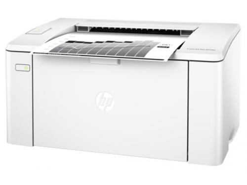 Принтер лазерный ч/б HP LaserJet Pro M104w RU (G3Q37A), белый, вид 2