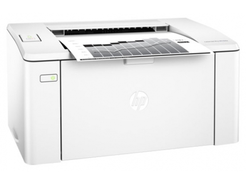Принтер лазерный ч/б HP LaserJet Pro M104w RU (G3Q37A), белый, вид 3