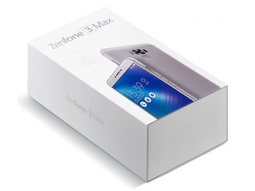 Смартфон ASUS ZenFone 3 Max ZC553KL, серебристый, вид 6