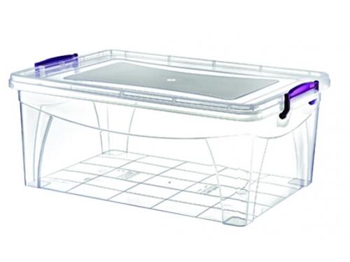 Контейнер для продуктов Росcпласт РП-112, прозрачный, вид 1