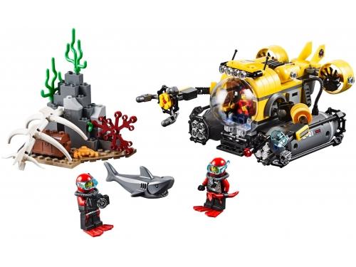 Конструктор LEGO Город 60092, Глубоководная подводная лодка, вид 1