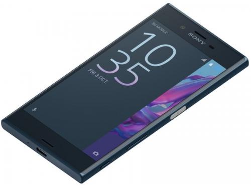 Смартфон Sony Xperia XZ F8331, Forest Blue, вид 3