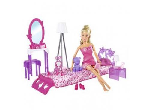 Кукла Simba Штеффи в спальной комнате, с аксессуарами, вид 1