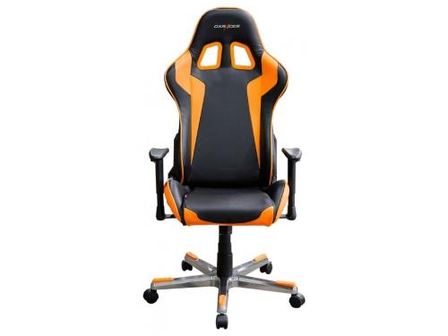 Компьютерное кресло DXRacer Formula OH/FE00/NO, черное / оранжевое, вид 1