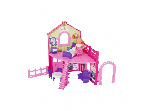 Кукла Simba Еви в двухэтажном доме, с аксессуарами, вид 1