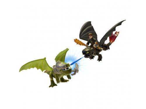 Набор игровой Spin Master Dragons Беззубик и Иккинг против дракона в доспехах, вид 1