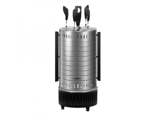 Электрогриль Шашлычница Lumme LU-1271 серый гранит, вид 1