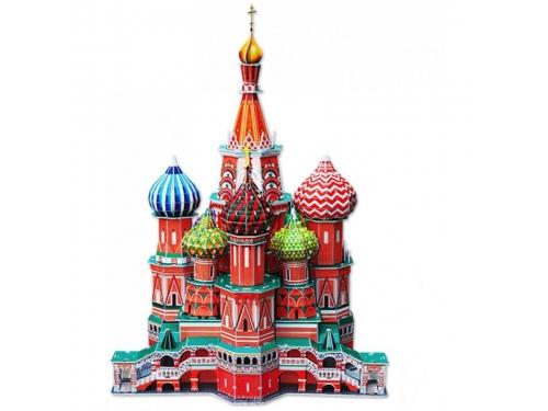 Набор игровой CubicFun  (пазл) Собор Василия Блаженного (Россия), вид 1