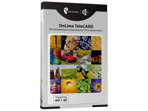 Комплект спутникового телевидения Комплект цифрового ТВ OnLime TeleCard, вид 1