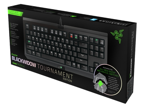 Клавиатура Razer BlackWidow Tournament 2014, вид 10
